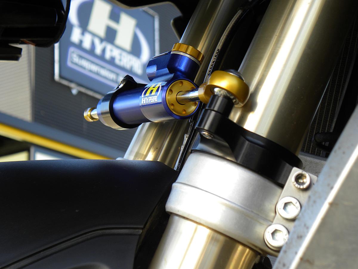 Hyperpro steering damper for R1200GS 2013 and 2014! models