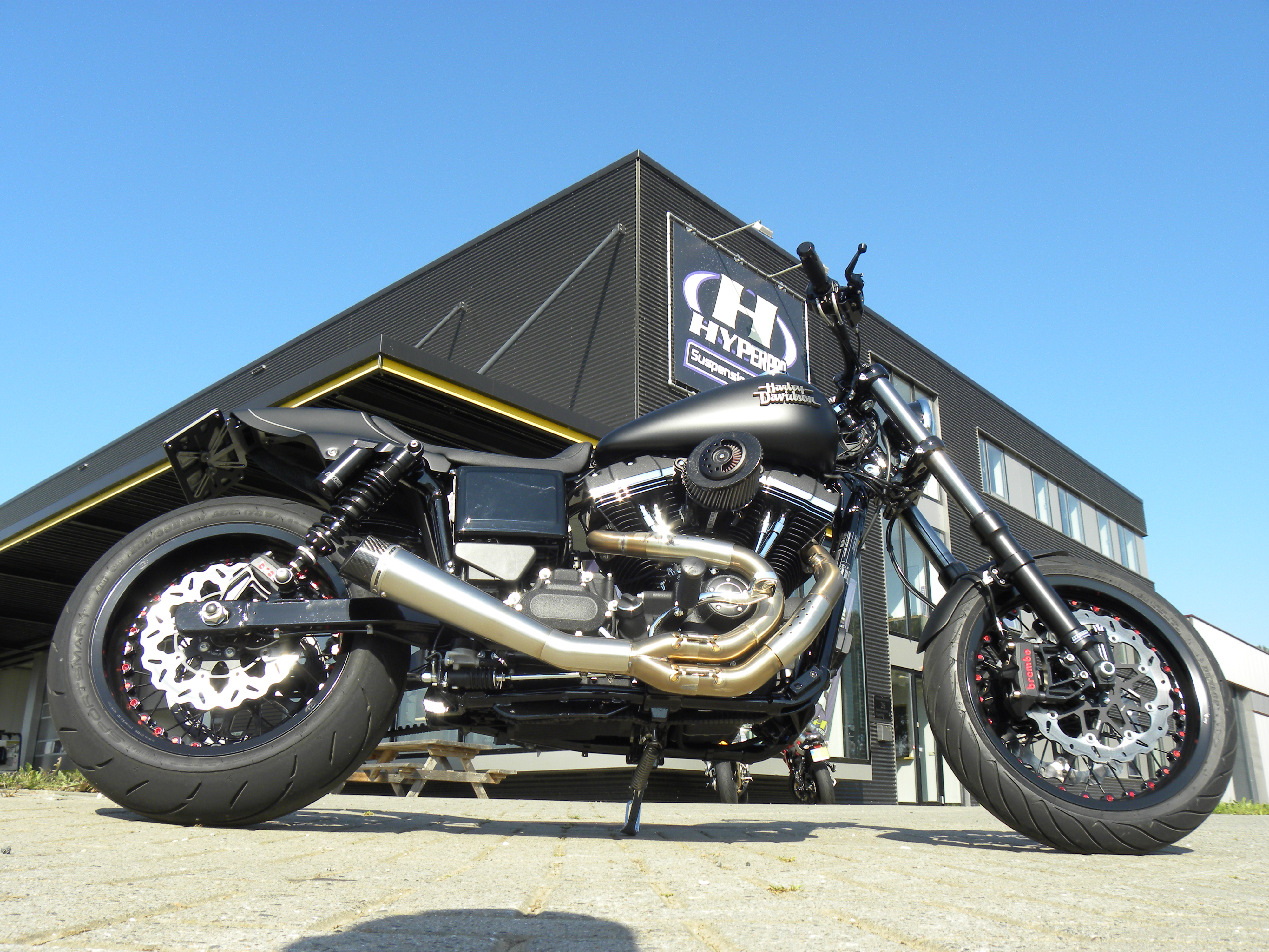 Make your Harley Davidson ride even better with Hyperpro