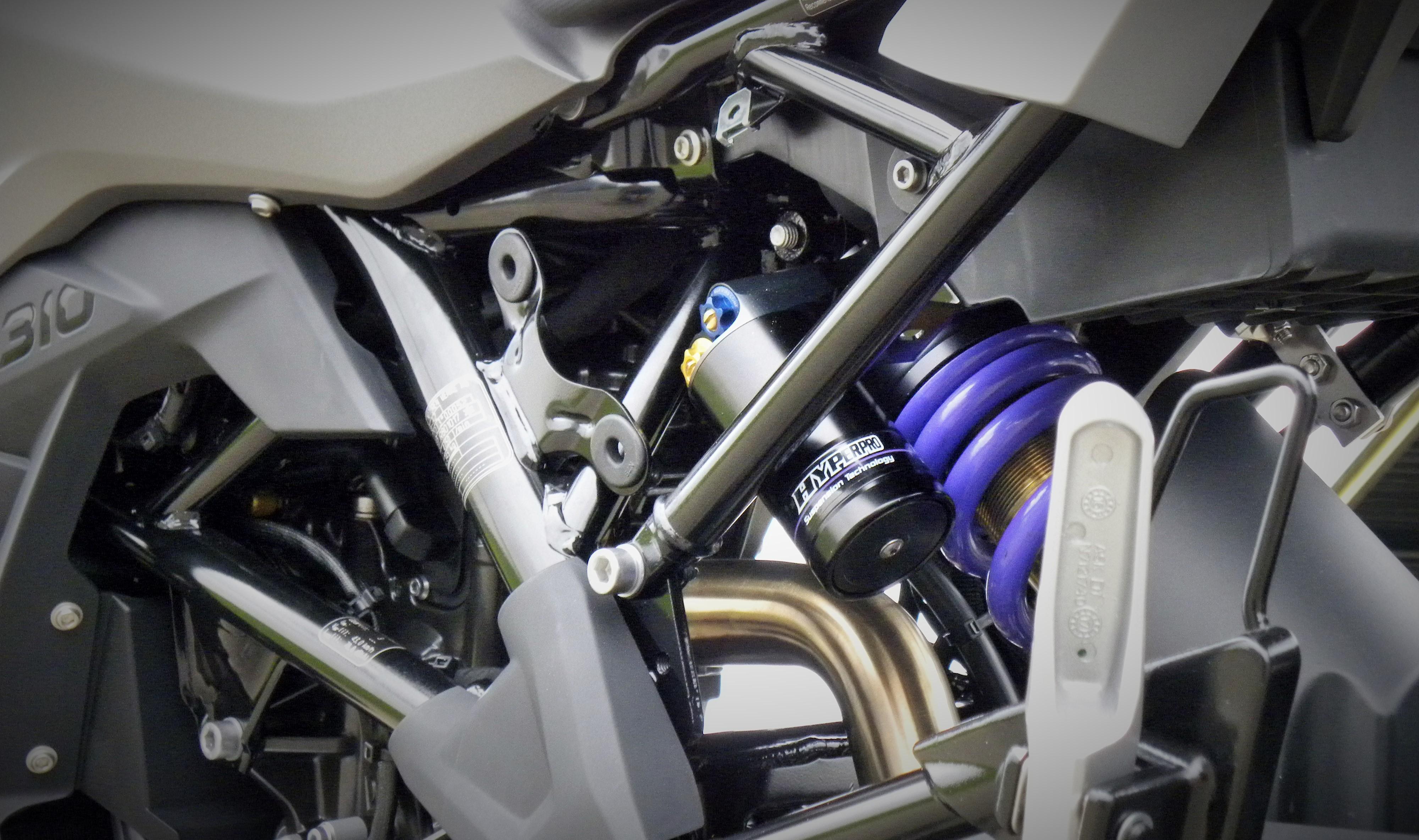 BMW G310 GS suspension solutions - Hyperpro